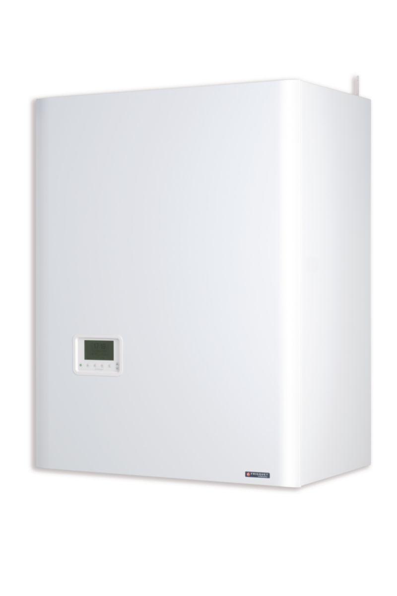 FRISQUET, Chaudière murale gaz à condensation mixte accumulée HYDROCONFORT Condensation Visio 14 - 20 kW 80 litres Classe énergétique A/B ré