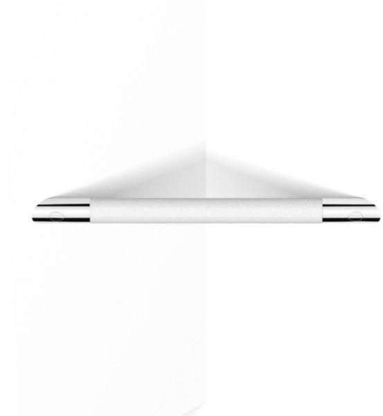 Barre d'angle chromé blanc Sérénité