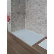Receveur De Douche Chez Point P.Alterna Receveur Synthese Plenitude 120 X 80 Cm Blanc Cedeo