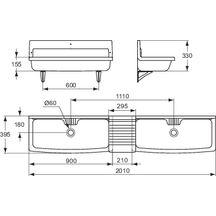 hauteur lavabo norme hauteur evacuation lavabo clermont ferrand papier surprenant hauteur. Black Bedroom Furniture Sets. Home Design Ideas