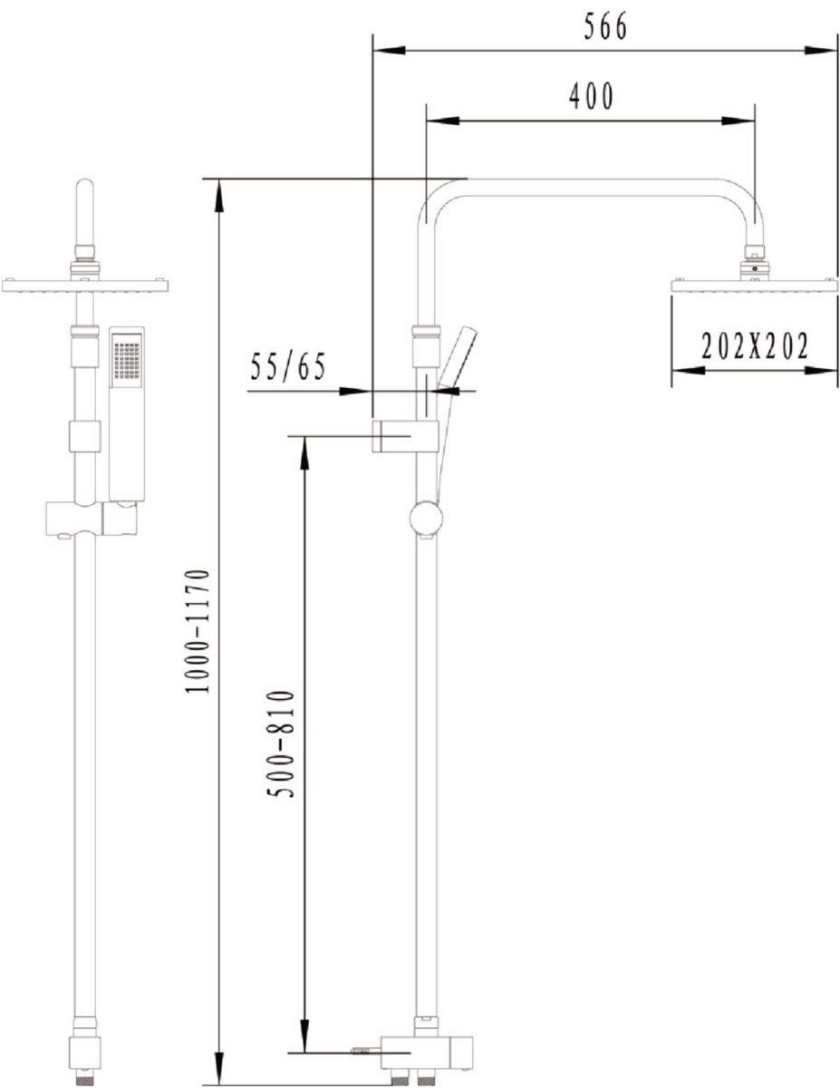 Colonne hydro DOMINO spécial rénovation