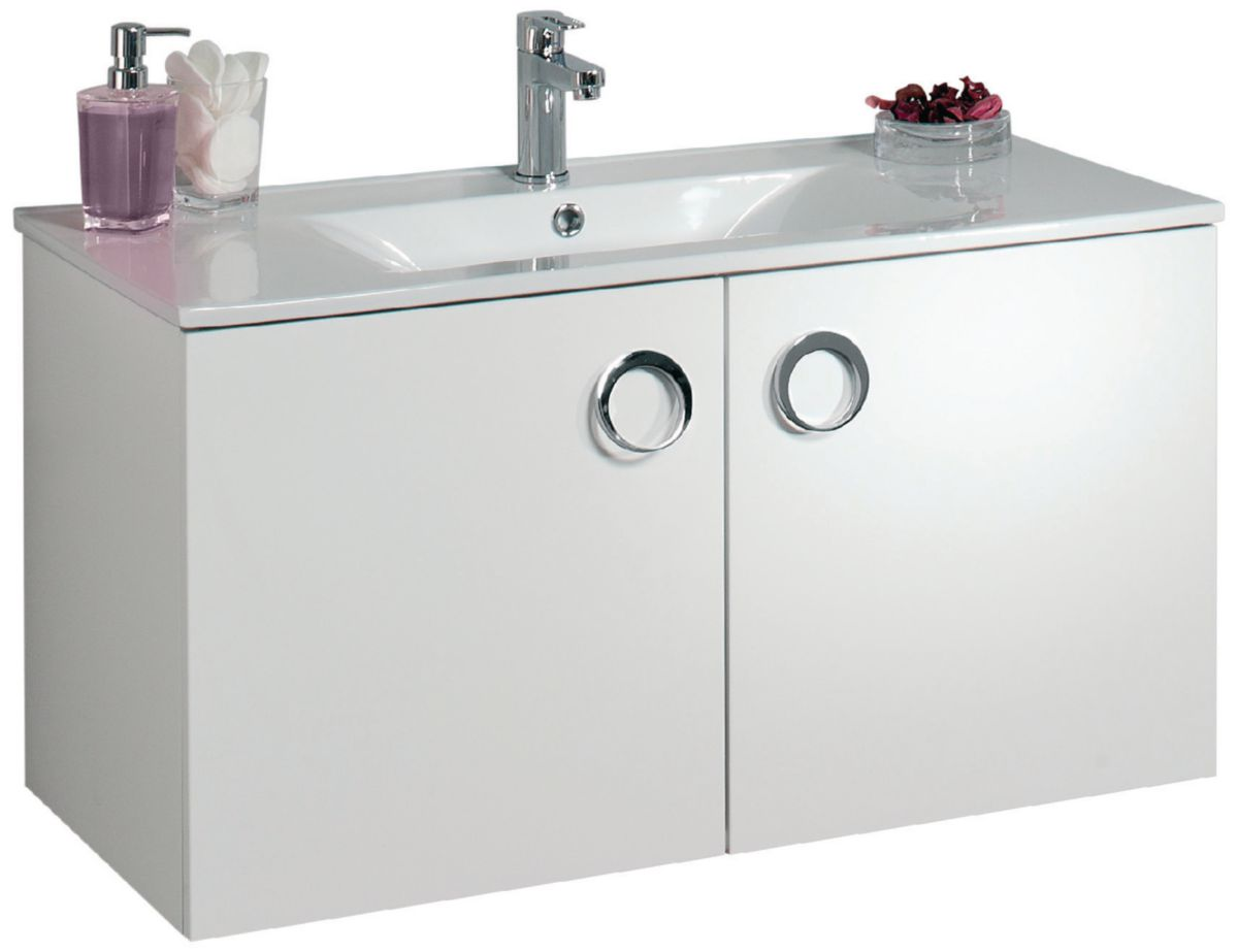 meuble salle de bain alterna seducta 90