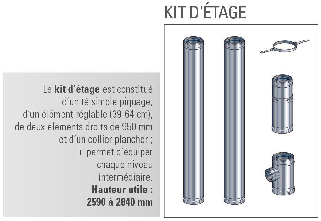 Kit étage 130 Multi+ int. Réf 17130496