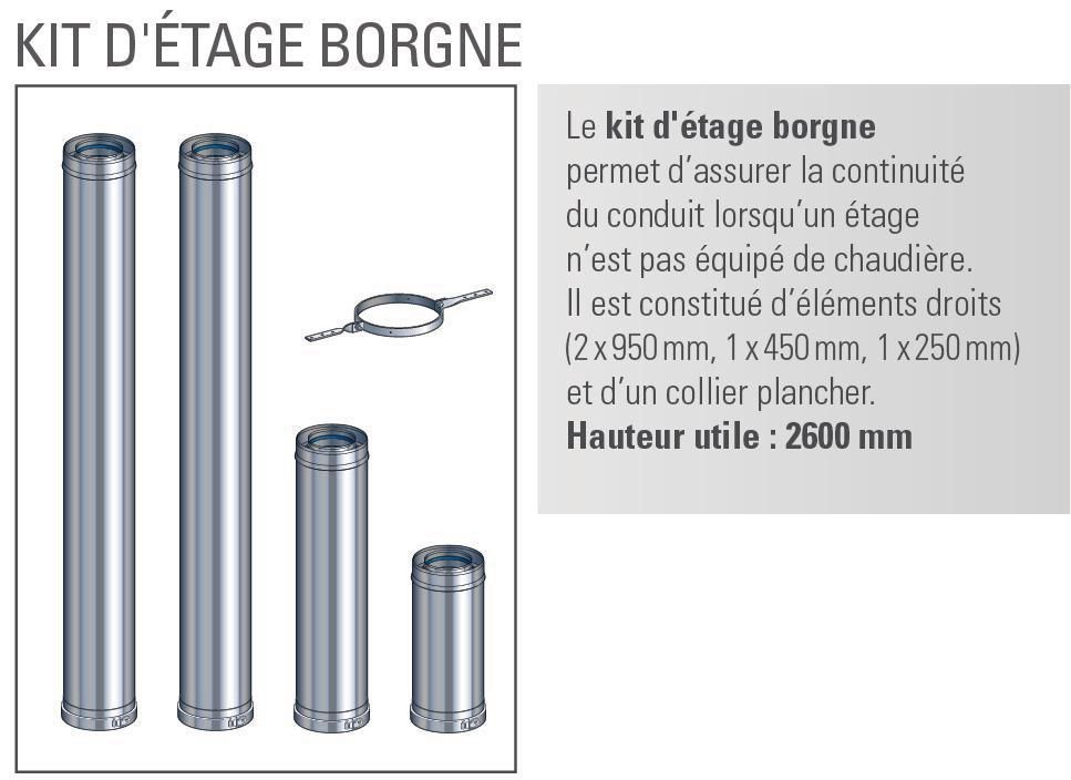 Kit étage borgne 130 Multi+ int. réf. 17130497