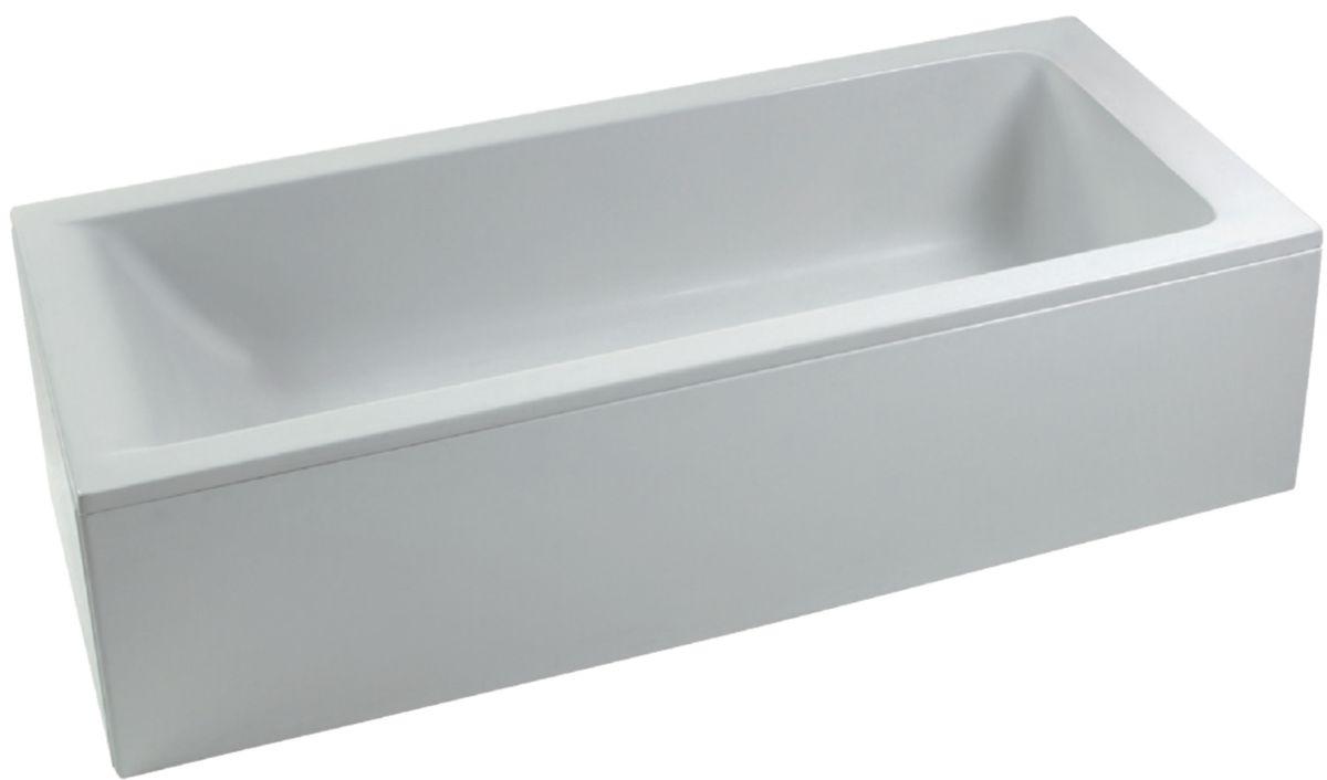 ideal standard baignoire connect 170x75cm en acrylique encastrer ou poser ch ssis. Black Bedroom Furniture Sets. Home Design Ideas