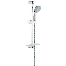 ensemble barre de douche tempesta ii 600 mm avec porte savon r f 27926000 grohe sanitaire. Black Bedroom Furniture Sets. Home Design Ideas