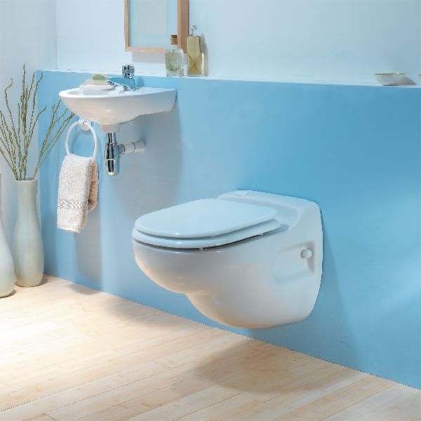 Broyeur SANICOMPACT STAR intégré au WC suspendu