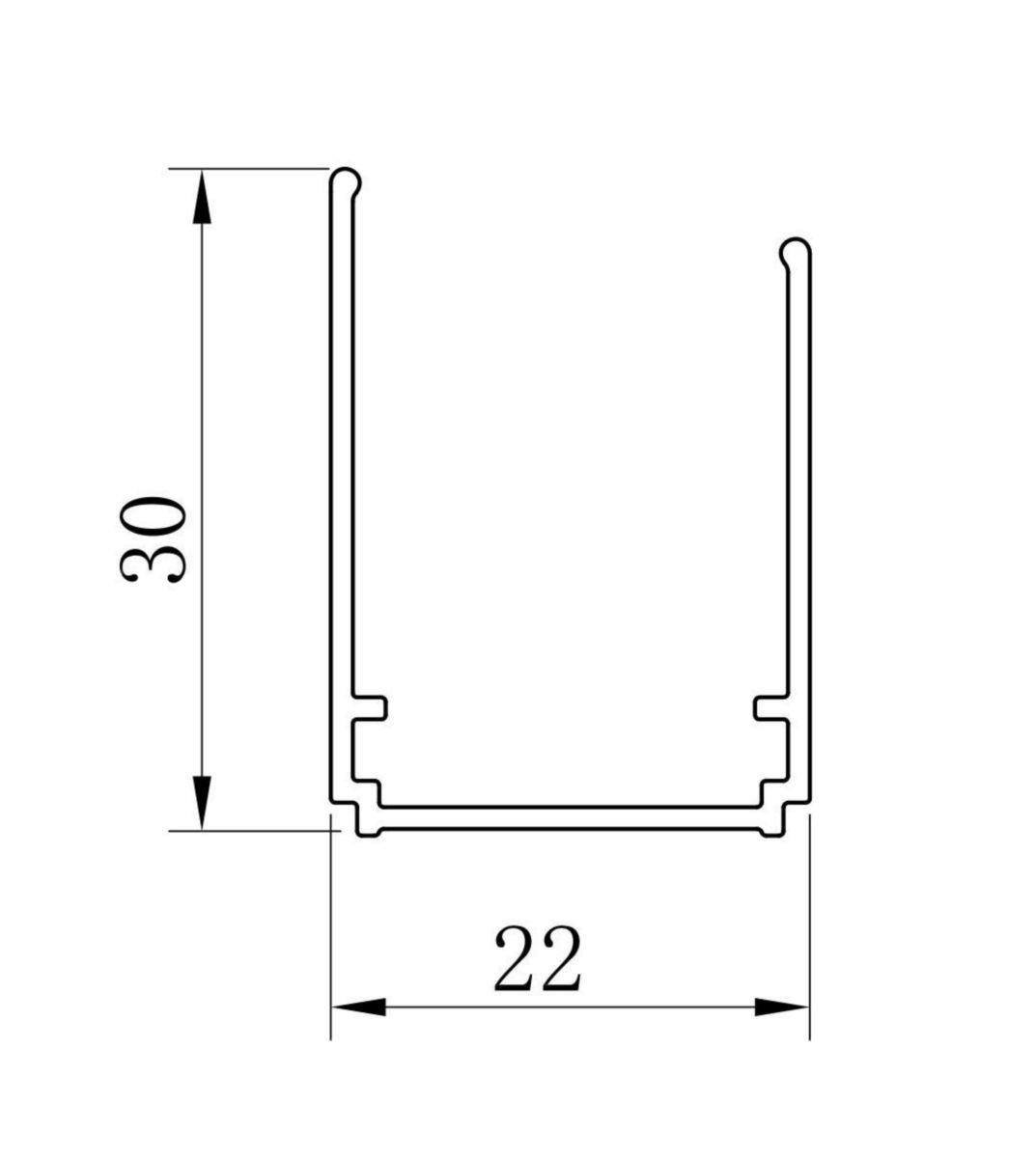 Paroi de douche Concerto accès de face coulissant 2 vantaux 120 x 120 cm profilé argent brillant verre sérigraphié