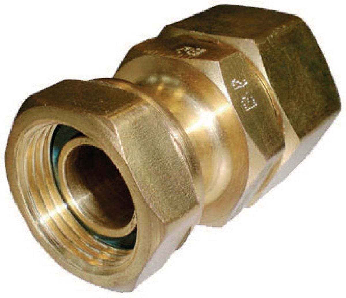 Raccord PLT TRACPIPE, joint plat gaz, femelle D15x21-15 réf 3311512