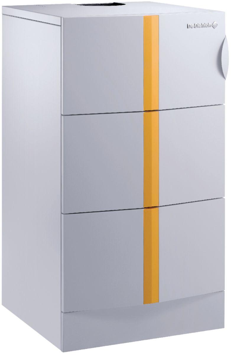 Chaudière sol gaz à condensation ELIDENS DTG 130 - 45 ECO NOX plus chauffage seul 43 Kw, Classe énergie : A - Colis HE20 - réf. 100009174