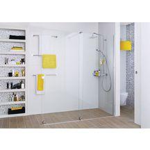 paroi de douche coulissante pureday 140 cm droite alterna sanitaire cedeo. Black Bedroom Furniture Sets. Home Design Ideas