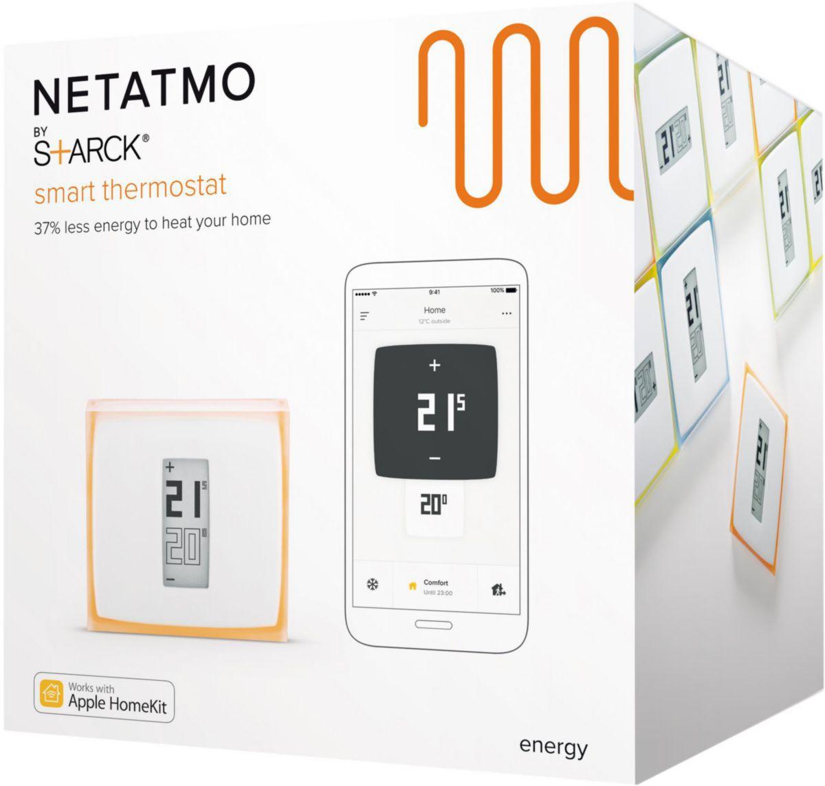Thermostat connecté NETATMO réf. NTH01-FR-EC