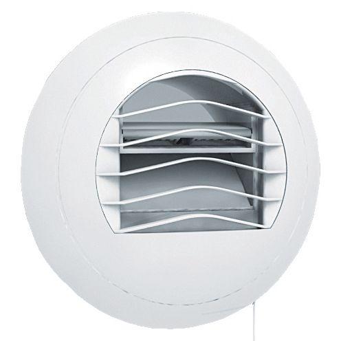 Bouche de ventilation hygroréglable - pour WCs - ø 80 mm