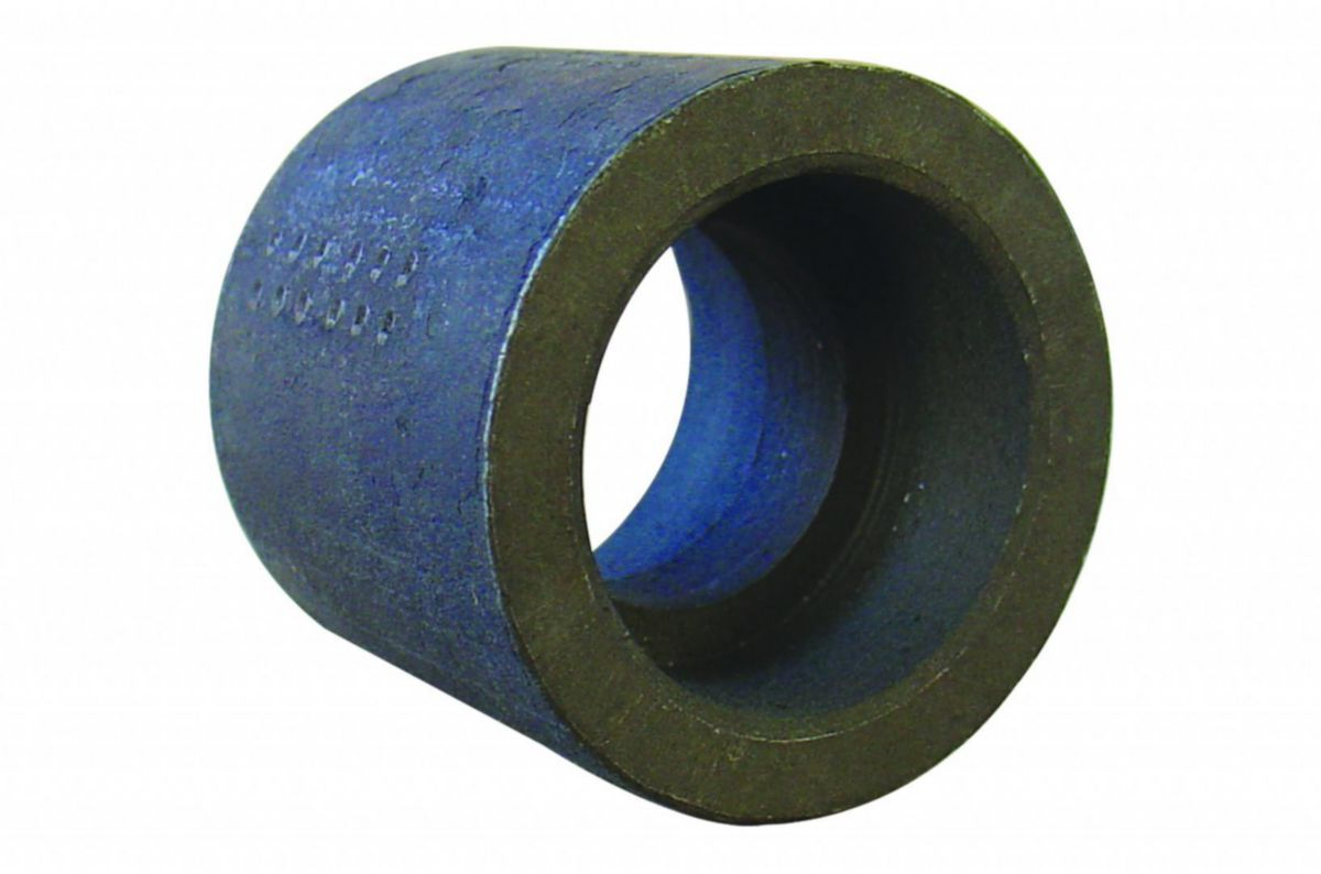 Manchon 2701 tube soudé filetage cylindrique longueur 65mm galva D66x76 réf 2701066G