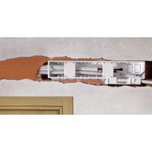 kit de pr installation d 39 encastrement pour climatiseur mural 540x135x55mm pb300kit rodigas. Black Bedroom Furniture Sets. Home Design Ideas