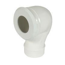 Pipe wc m le sortie verticale cwp33 nicoll sanitaire brossette - Wc sortie verticale avant ...