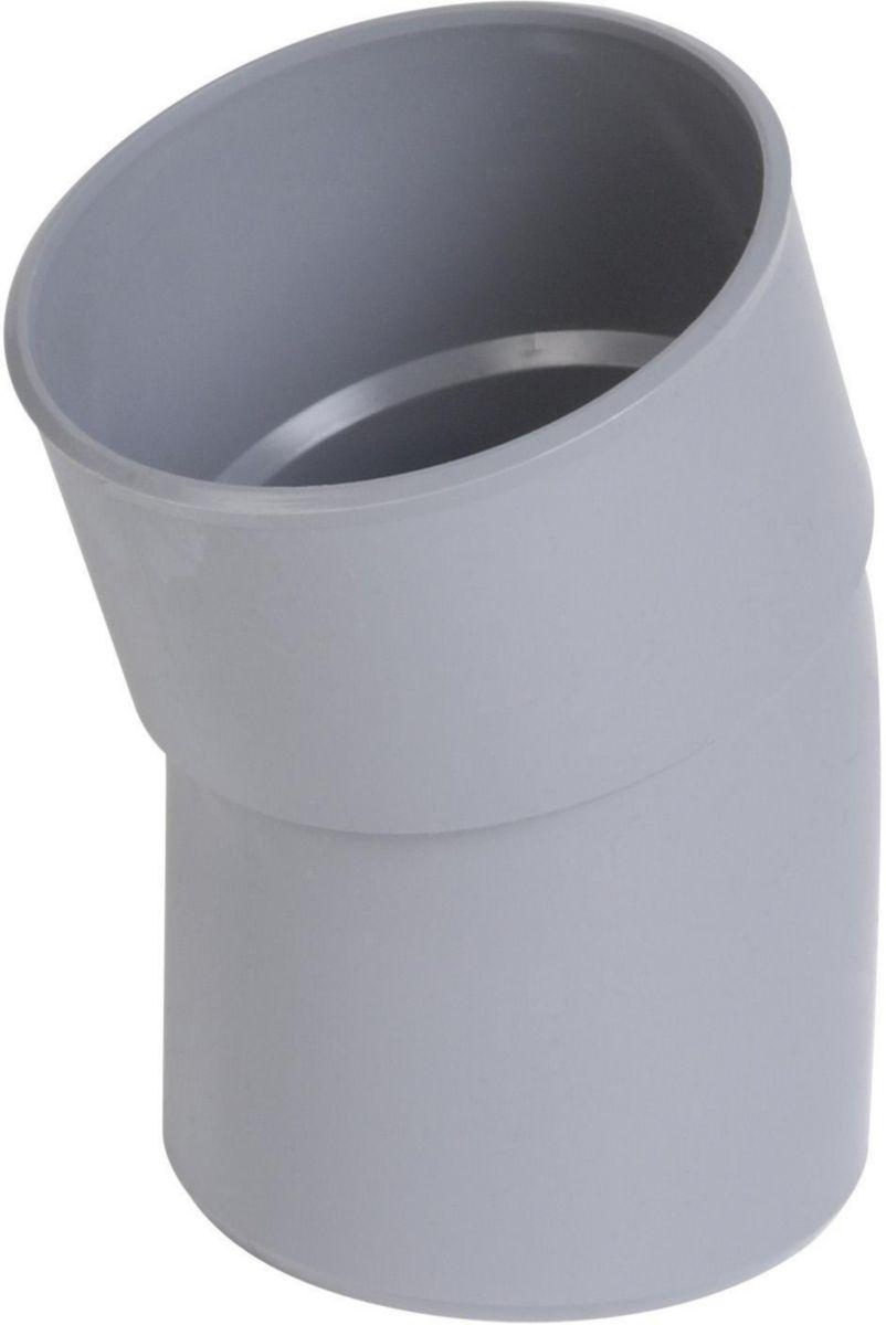 Coude mâle femelle 20° diamètre 63mm CL2