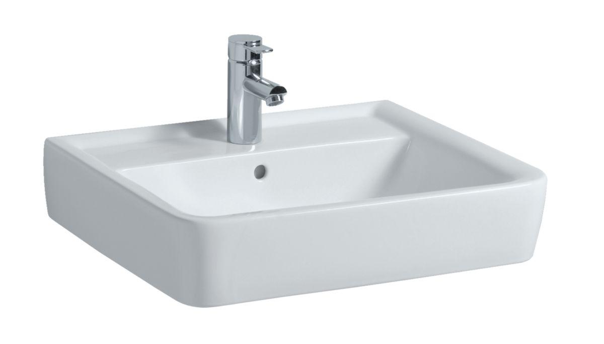 lavabo plan autoportant ou poser prima style lg 60 cm c ramique blanc r f 00137300000 allia. Black Bedroom Furniture Sets. Home Design Ideas