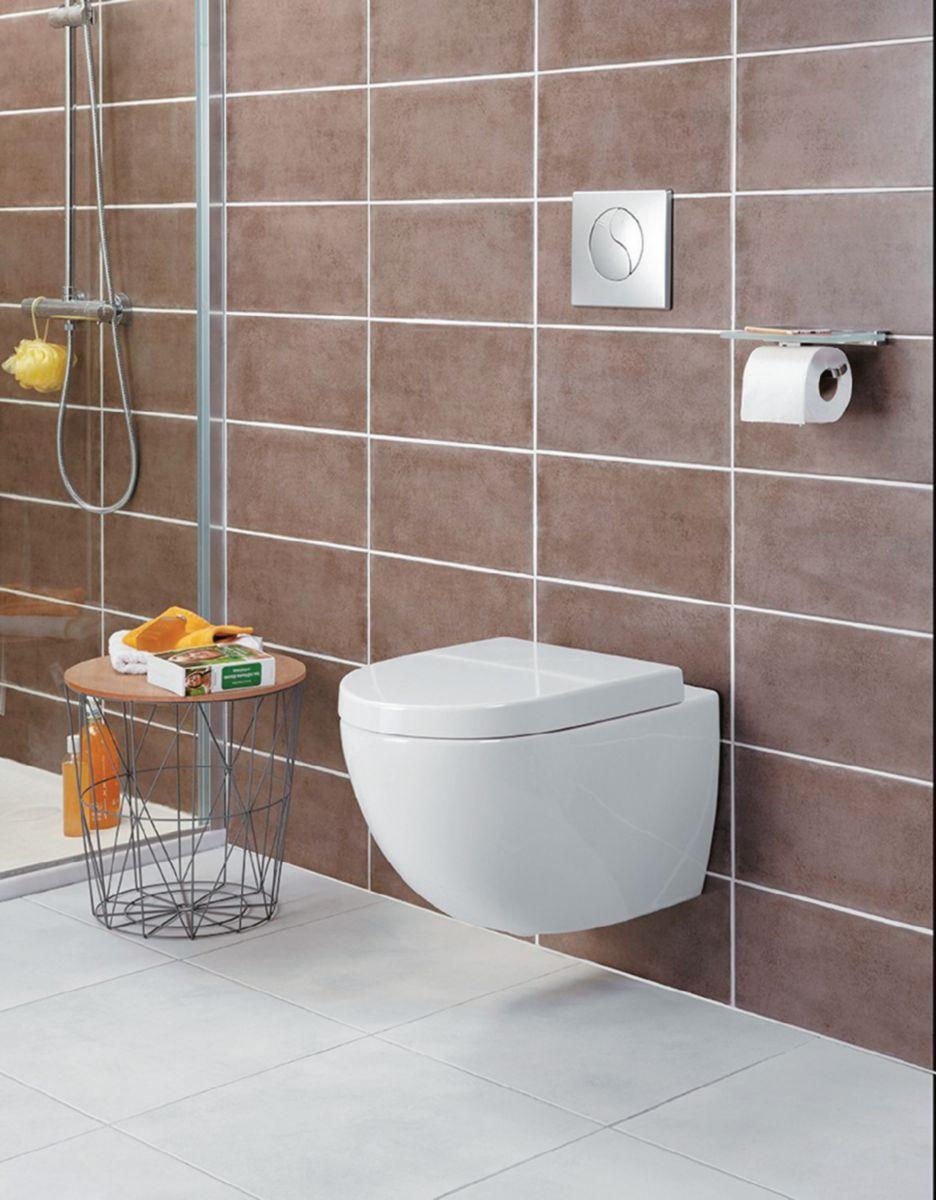 Pack WC suspendu Daily O2 avec abattant frein de chute déclipsable