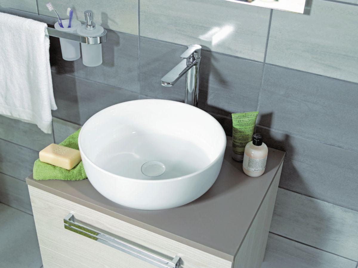 vasque a poser blanche ... Vasque à poser DAILY O bord fin blanche ...