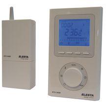 thermostat d 39 ambiance programmable sans fil r f rtu300b elesta regulation europe chauffage. Black Bedroom Furniture Sets. Home Design Ideas