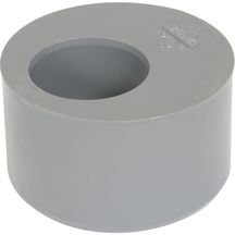 Tampon de réduction MF - R4 - PVC gris - Ø 80/40 mm