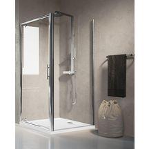 paroi de douche lunes f 78 cm extensible jusqu 39 84 cm fixe r versible pour pose avec une. Black Bedroom Furniture Sets. Home Design Ideas