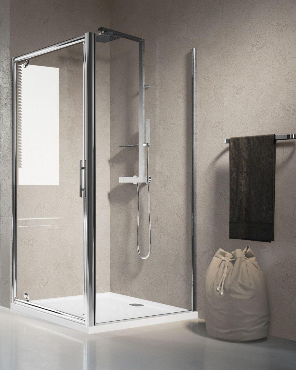 poser une porte de douche poser une porte de douche with poser une porte de douche free pare. Black Bedroom Furniture Sets. Home Design Ideas