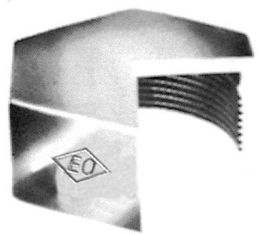 Bouchon fonte malléable 300 galvanisée F 12X17 Réf. 30015002
