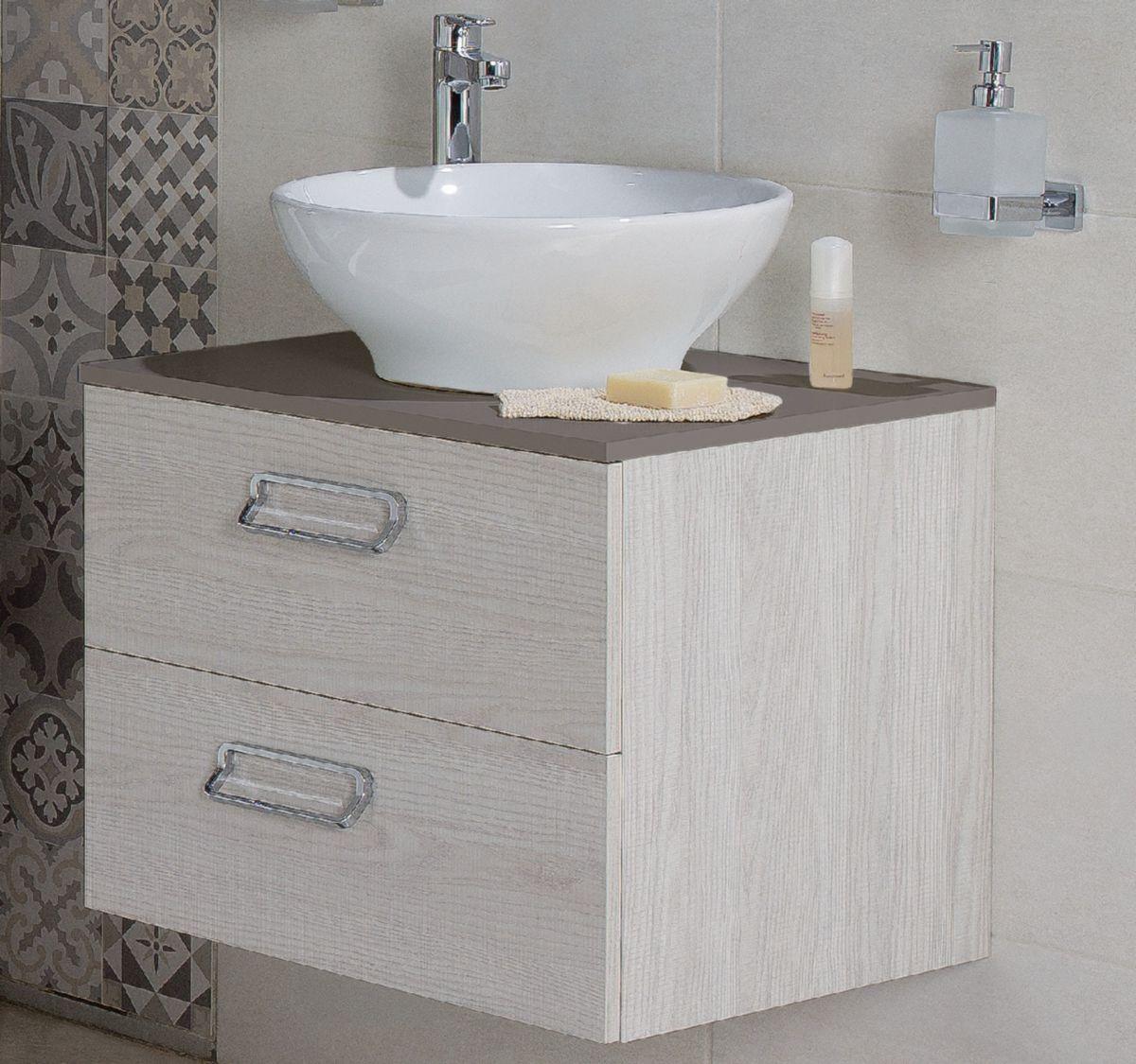 alterna plan 60 cm pour vasque poser taupe cedeo. Black Bedroom Furniture Sets. Home Design Ideas
