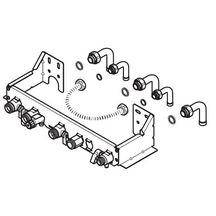 plaque de raccordement pour chaudi res c25e c25ev et f25e h mod r f 0020037590 saunier duval. Black Bedroom Furniture Sets. Home Design Ideas