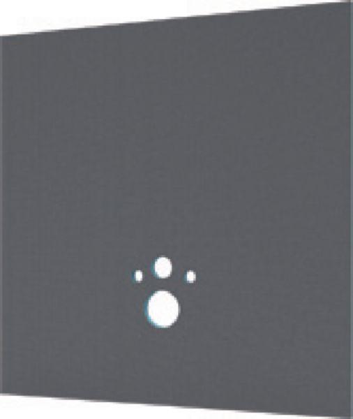Panneau d'habillage pour bâti support de WC polystyrène extrudé wedi I-Board - 20x1200x1245 mm