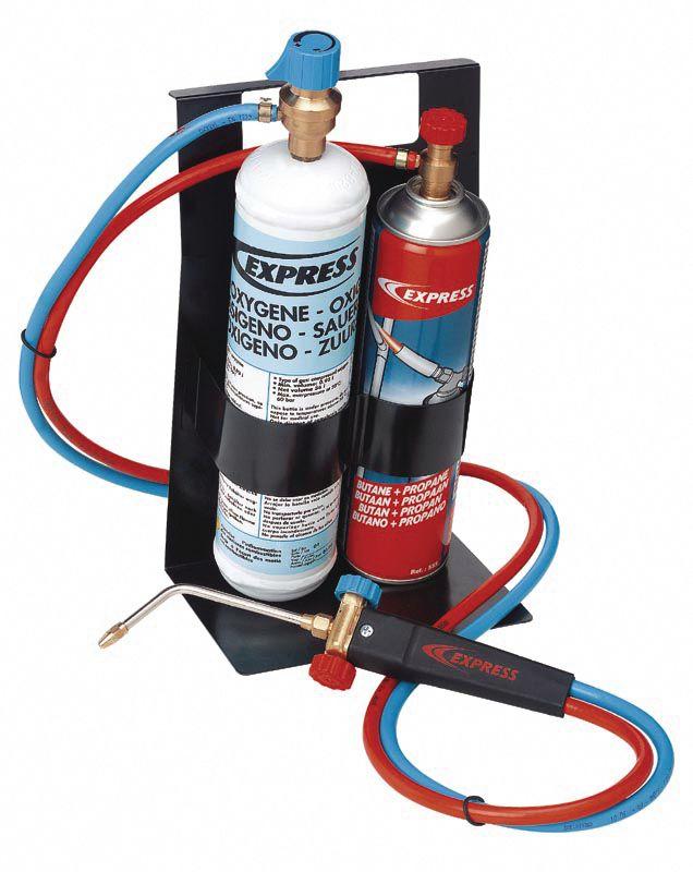 Poste de soudage bi-gaz Oxy-Start 2902 La pièce