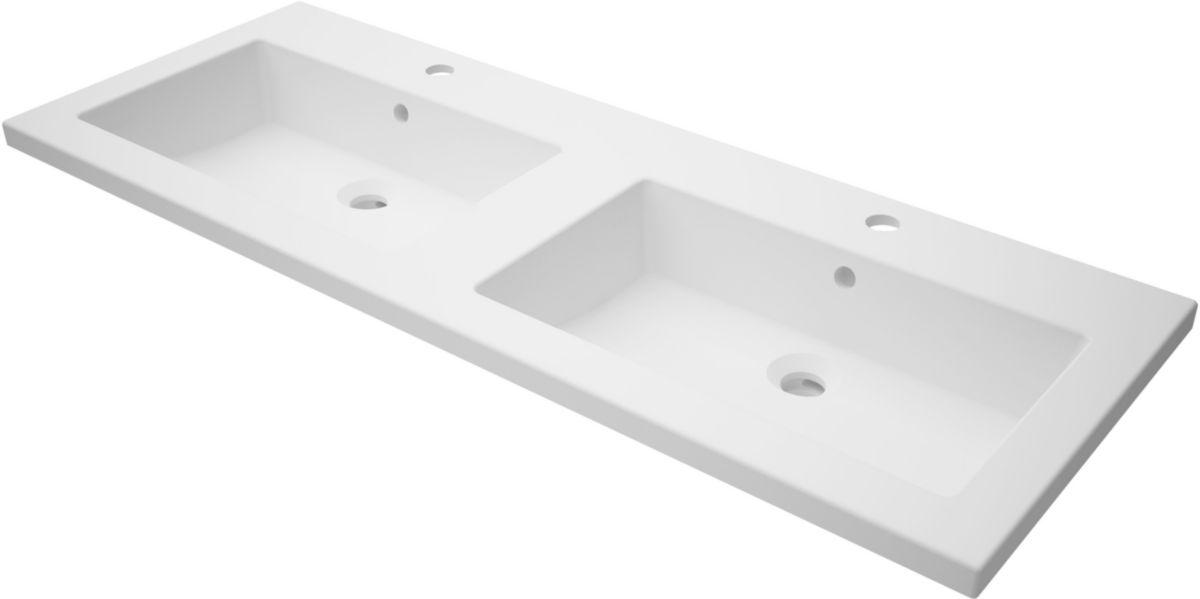 plan de toilette woodstock2 120 cm en synth se double vasque alterna. Black Bedroom Furniture Sets. Home Design Ideas