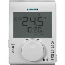Thermostat d'ambiance grand LCD à piles journalier RDJ100 / réf. S55770-T379