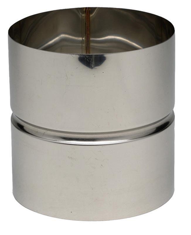 Manchette inox 304 pour montage condensation diamètre 139 mâle/mâle réf. 615139