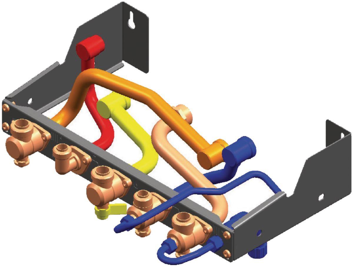 Dosseret de remplacement gammes 4, 5, 6 et Alcéa elm Leblanc DOS GA6 réf. 7719002008