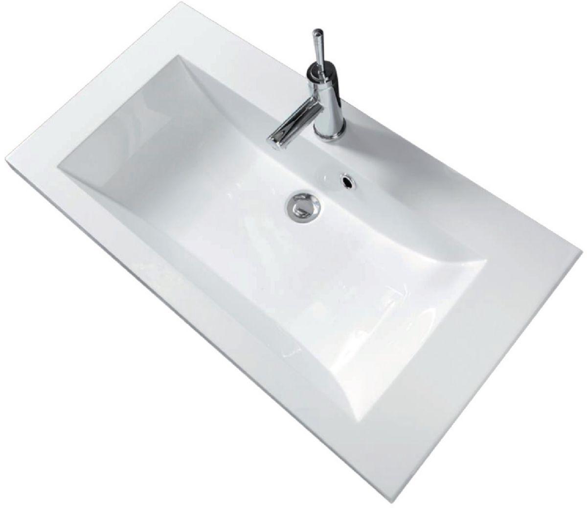 alterna plan de synth se 1 vasque seducta 90 cm blanc. Black Bedroom Furniture Sets. Home Design Ideas
