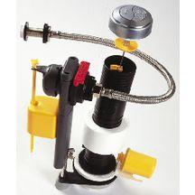 M canisme double touche claraplus avec conomiseur d 39 eau et robinet flotteur r f 6600000 clara - Economiseur d eau robinet ...