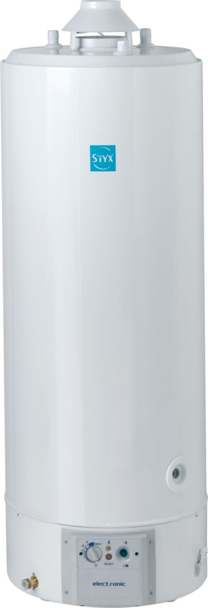 styx chauffe eau gaz naturel sol accumulation 150. Black Bedroom Furniture Sets. Home Design Ideas