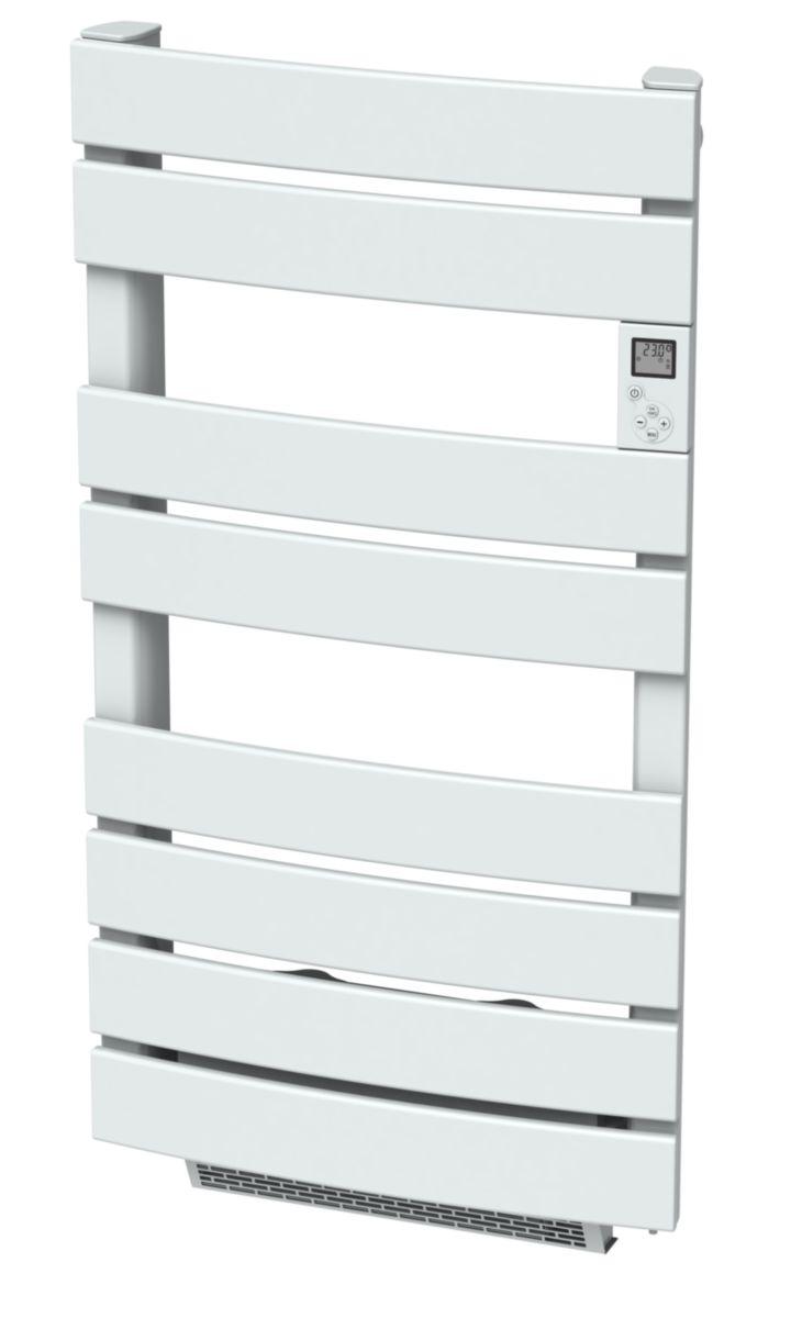 radiateur s che serviette lectrique lames plates pluton 600 w soufflerie 1000 w r f dccx1l. Black Bedroom Furniture Sets. Home Design Ideas