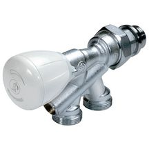 Robinet monotube à quatre voies thermostatisable diamètre 15x21-18 R437X039