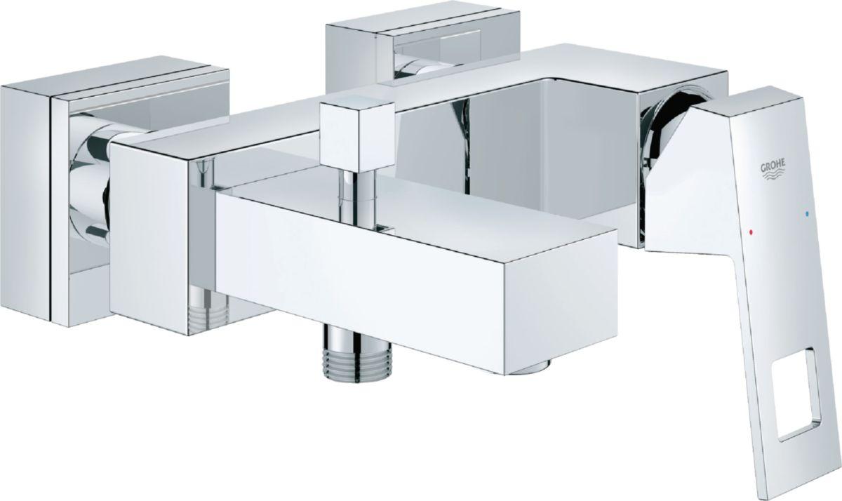 Mitigeur monocommande 15 x 21 pour bain-douche EUROCUBE chromé réf. 23140000