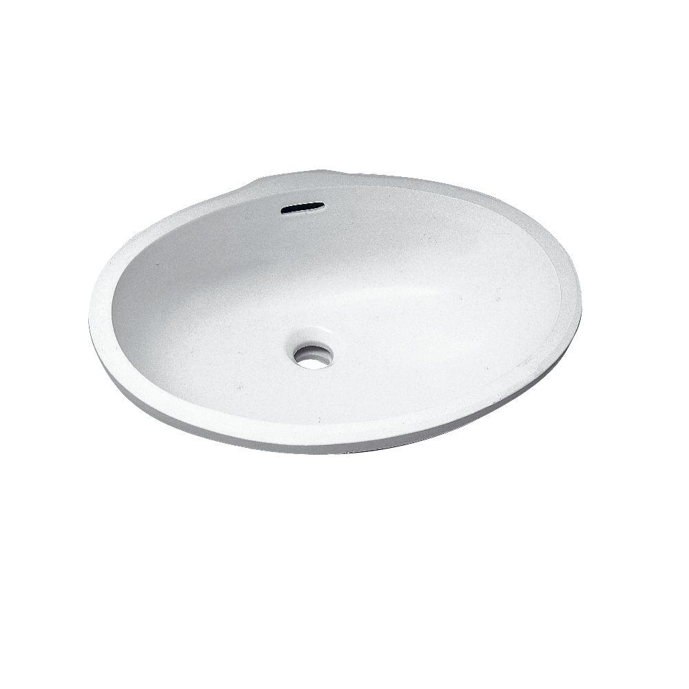 allia vasque encastrer par dessous fontange lg 56 cm. Black Bedroom Furniture Sets. Home Design Ideas