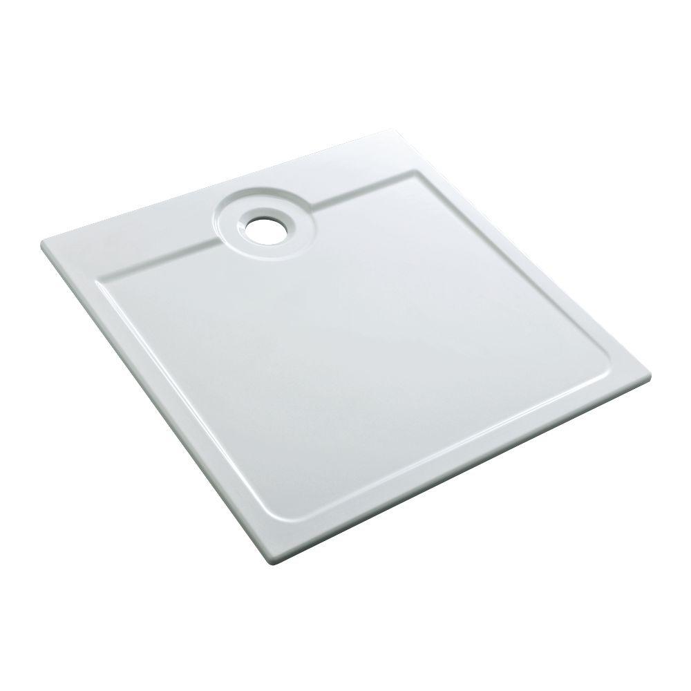 Remarquable ALLIA - Receveur LATITUDE céramique ultra-plat à encastrer de 90 x FV-04