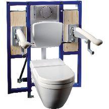 b ti support duofix plus accessibilit pmr en applique r f 111375005 geberit sanitaire cedeo. Black Bedroom Furniture Sets. Home Design Ideas