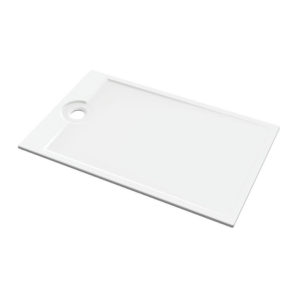 allia receveur latitude c ramique ultra plat encastrer de 140 x 90 cm pour bonde de 90 mm. Black Bedroom Furniture Sets. Home Design Ideas