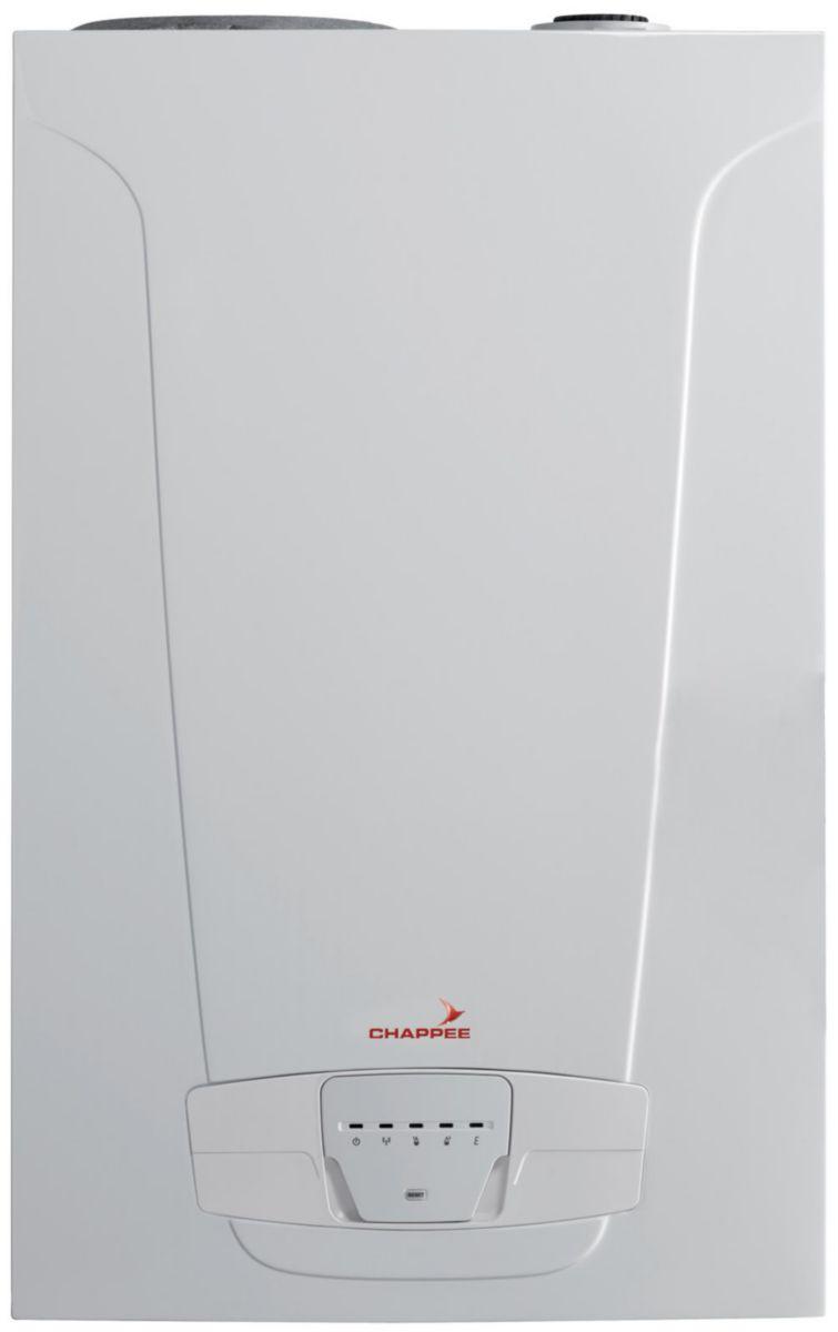 Chaudière murale gaz à condensation ECS Luna Platinum + Duo 3,33 kW HTE C classe énergétique A/A réf. 7218595
