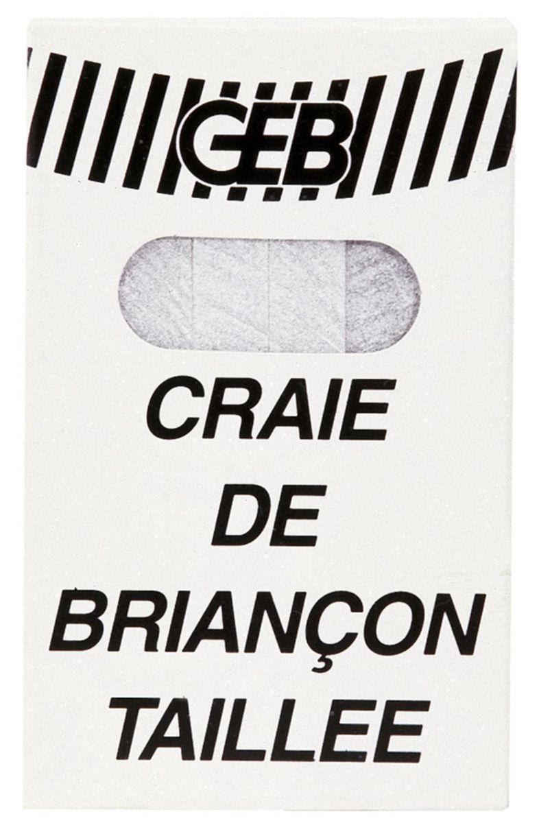 Craie de Briançon étui de 12 bâtons réf. 816591