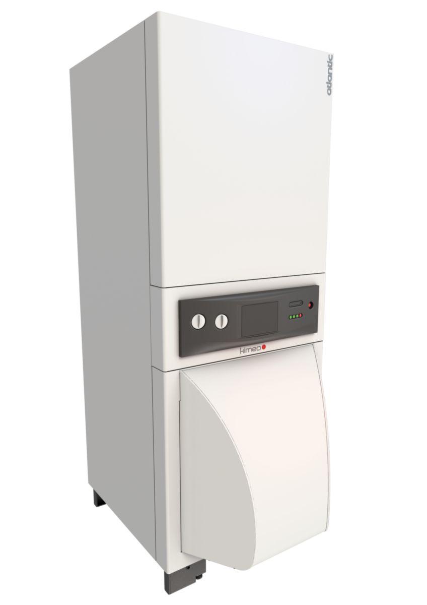 Chaudière sol fioul à condensation KIMEO DUO 30 puissance 27,5 kW avec ECS classe énergétique B réf. 026555
